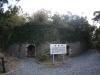 安脚場戦跡公園の弾薬庫跡