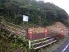 湯湾岳9合目の登山道入口