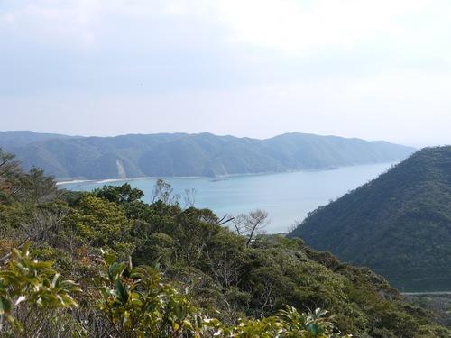 古道から諸鈍湾