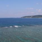 奄美市根瀬部の先から大浜海浜公園方面