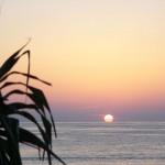 大浜の夕日