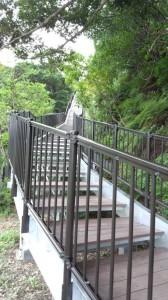 展望台への遊歩道