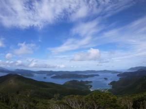 高知山展望台より