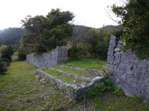 西家の石垣