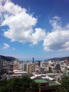 おがみ山からの青空