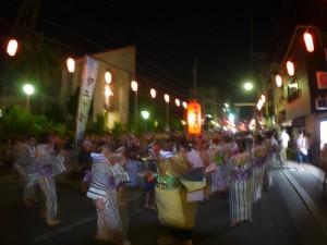 奄美祭り:八月踊り