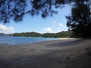 加計呂麻島、渡連海岸