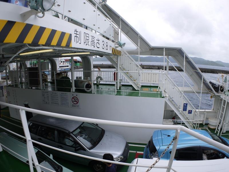 新造船フェリーかけろま、初乗船、ところが・・・・