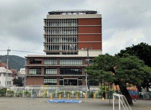 市役所新庁舎