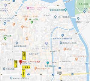 観光ネットワーク奄美、周辺地図