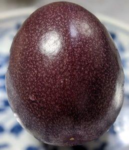 パッションフルーツの頭