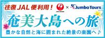 Jumbo Tours 奄美大島への旅 東京発